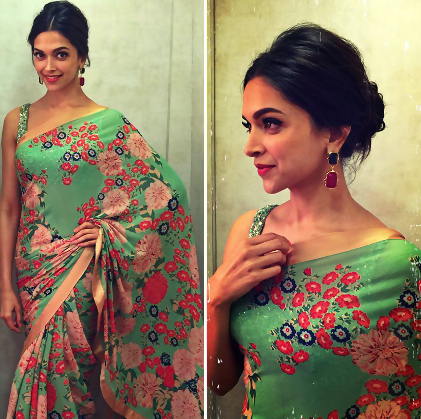 Pretty Blouse Neckline Ideas To Steal From Deepika ...